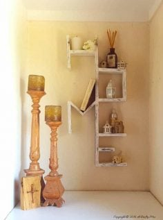 I Love Our HOME Shelf and How to Make your Own