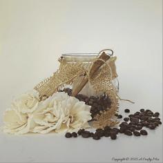 Rustic Coffee and Vanilla Candles – Easy DIY