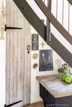 Tips for Creating Extra Storage Under a Curved Staircase
